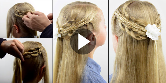 Learn - How To Create Triple Stacked Pullback Hairstyle, See Tutorial