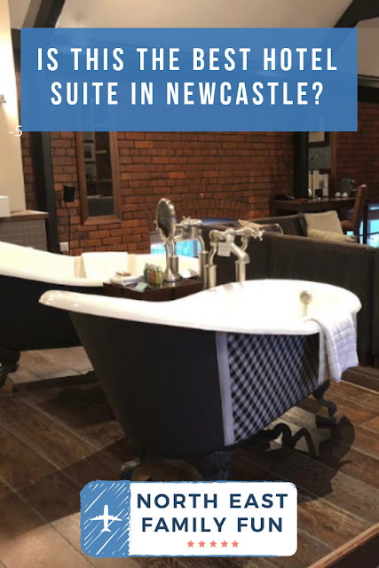 Hotel Du Vin Newcastle Executive Suite - Is it the best hotel suite in Newcastle?