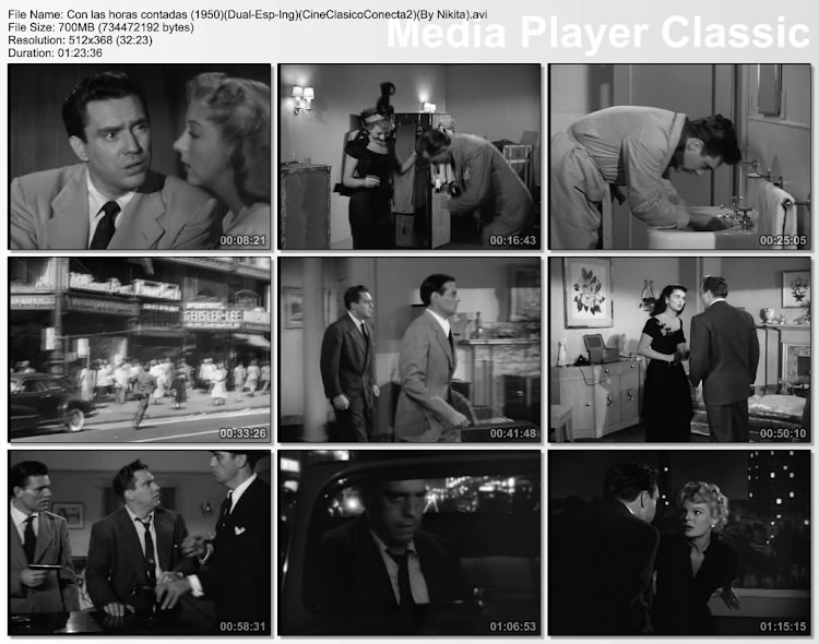 Con las horas contadas 1950 | D.O.A | Capturas de pantalla | Secuencias de la película