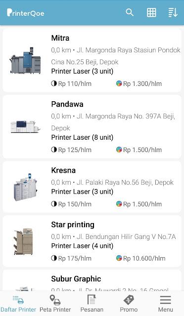 printerqoe marketplace percetakan murah