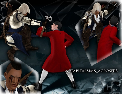 My Sims 3 Blog Assassin S Creed Pose Set By Anita