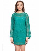 Rochie crosetata verde 396