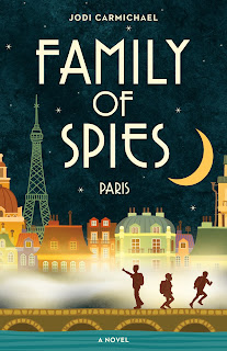 https://www.amazon.ca/Family-Spies-Paris-Jodi-Carmichael/dp/1927855942/ref=sr_1_1?ie=UTF8&qid=1525091306&sr=8-1&keywords=family+of+spies+jodi+carmichael