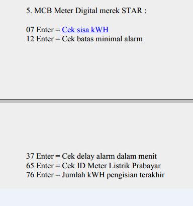 √ Kode Meteran Listrik Prabayar Semua Merk Terlengkap