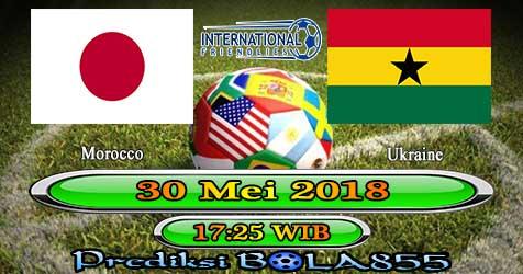 Prediksi Bola855 Japan vs Ghana 30 Mei 2018