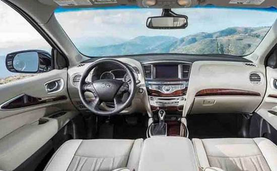 2018 Infiniti QX60 Interior Design