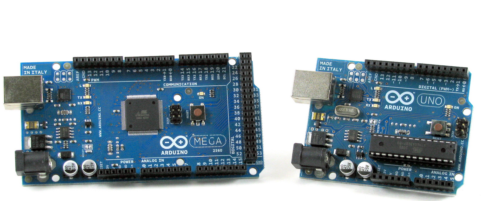 Puak s technology compare arduino uno vs mega