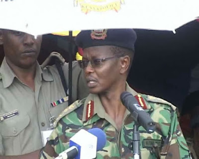 Inspector General Joseph Boinnet. PHOTO | Courtesy