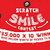 "Pizza Hut ""Scratch & Smile"" Contest 2017: Over RM 10 Million worth of prizes to be won!"
