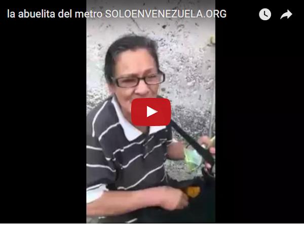 La Abuelita que pide dinero en el Metro - Te jHodió!