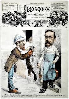 Carlos Pellegrini - Henri Stein (14.06.1891), Museo do Humor, Buenos Aires