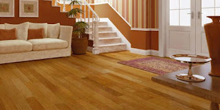 wood plastic composite indoor flooring