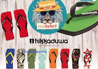 Logo Vinci gratis 150 infradito Hikkaduwa e un Safari per 2 persone