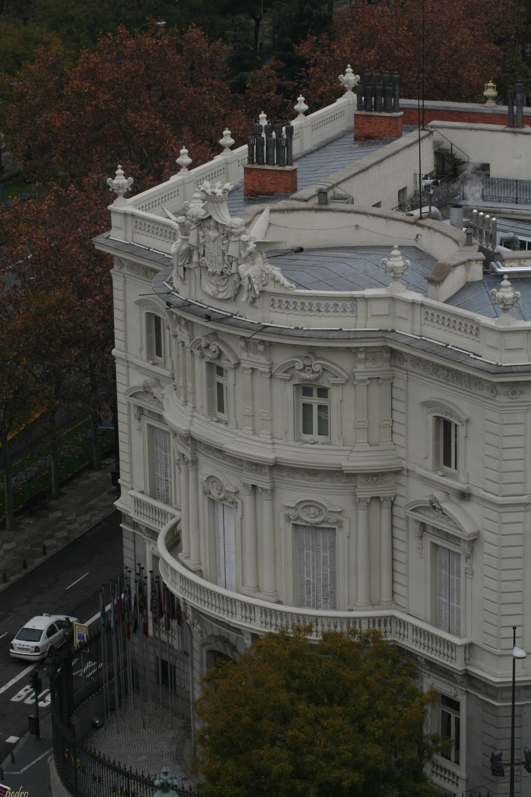 Madrid Palacio De Cibeles