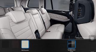 Nội thất Mercedes AMG GLS 63 4MATIC 2018 màu Vàng Porcelain 535