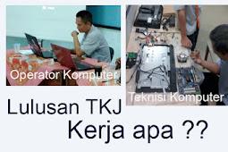 Peluang kerja lulusan TKJ