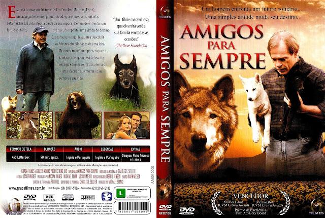Capa DVD Amigos Para Sempre