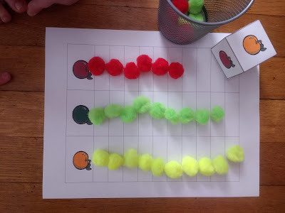 Playing the Apple Graphing Activity With My Preschooler