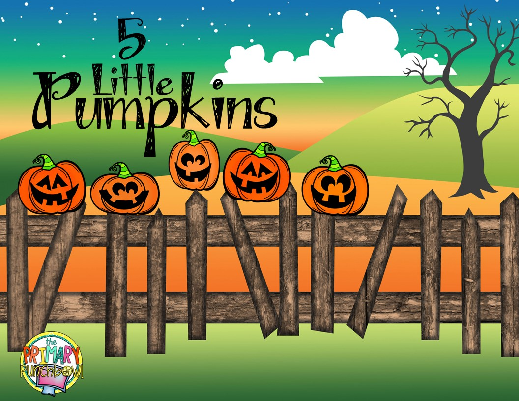 Five Little Pumpkins A Freebie