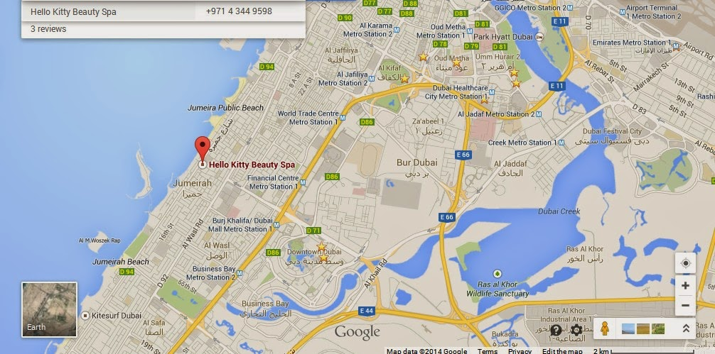 Hello Kitty Beauty Spa Dubai Location Map,Location Map of Hello Kitty Beauty Spa Dubai,Hello Kitty Beauty Spa Dubai accommodation destinations attractions hotels map reviews photos pictures