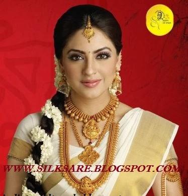 LATEST INDIAN WEDDING SILK SAREE JEWELLERY WEDDING HAIR STYLE INDIAN