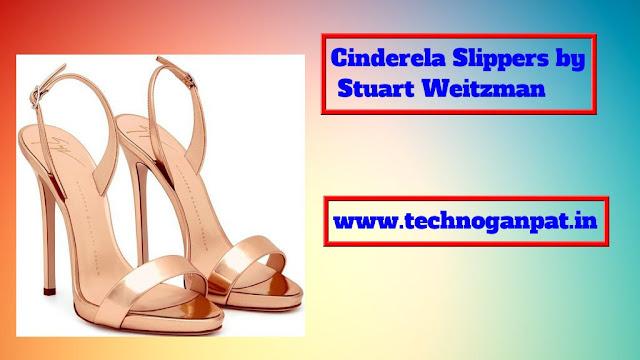 Cinderela Slippers by Stuart Weitzman