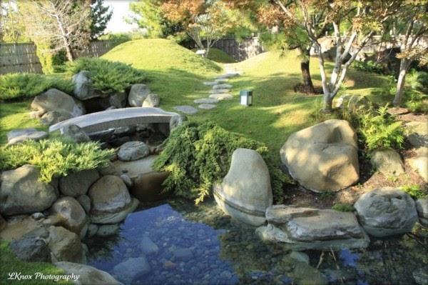 casa decorada Tipos de Jardim Japonês