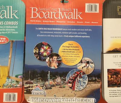 Costco 1115583 - Santa Cruz Beach Boardwalk Combo Pack 2017 - great for you and a friend