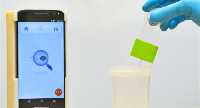 Latest: Researchers Make Super Cheap Smartphone Sperm Fertility Test