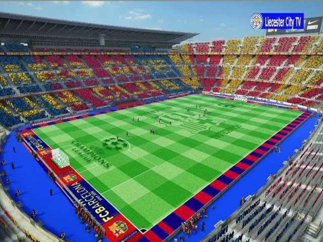 PES 2013 Nou Cam Stadium Update
