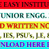 SSC JE 2019 | Mechanical Engg. Made Easy Coaching | Hand Written Notes | All Engineering Subjects | Free Download Now PDF