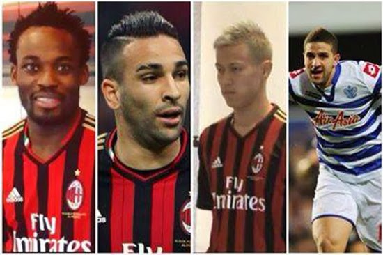 AC Milan's signings of January