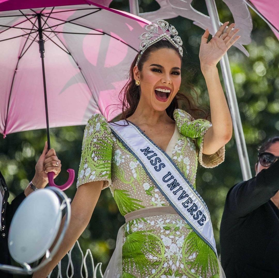Miss Universe 2018 Catriona Gray's homecoming parade