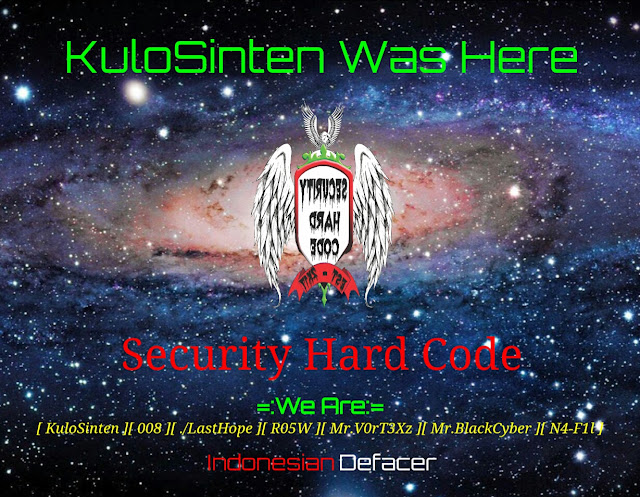 Hacker KuloSinten Berhasil Retas Situs Reskrimum Polri Jateng