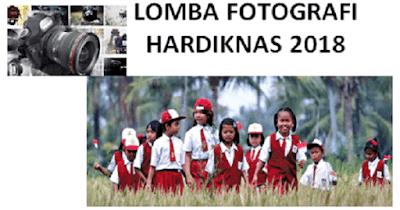 Lomba Fotografi Hardiknas 2018