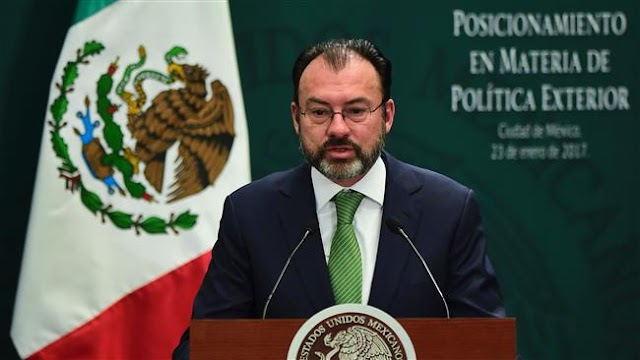 Paying for Donald Trump's border wall not negotiable: Mexican Foreign Minister Luis Videgaray