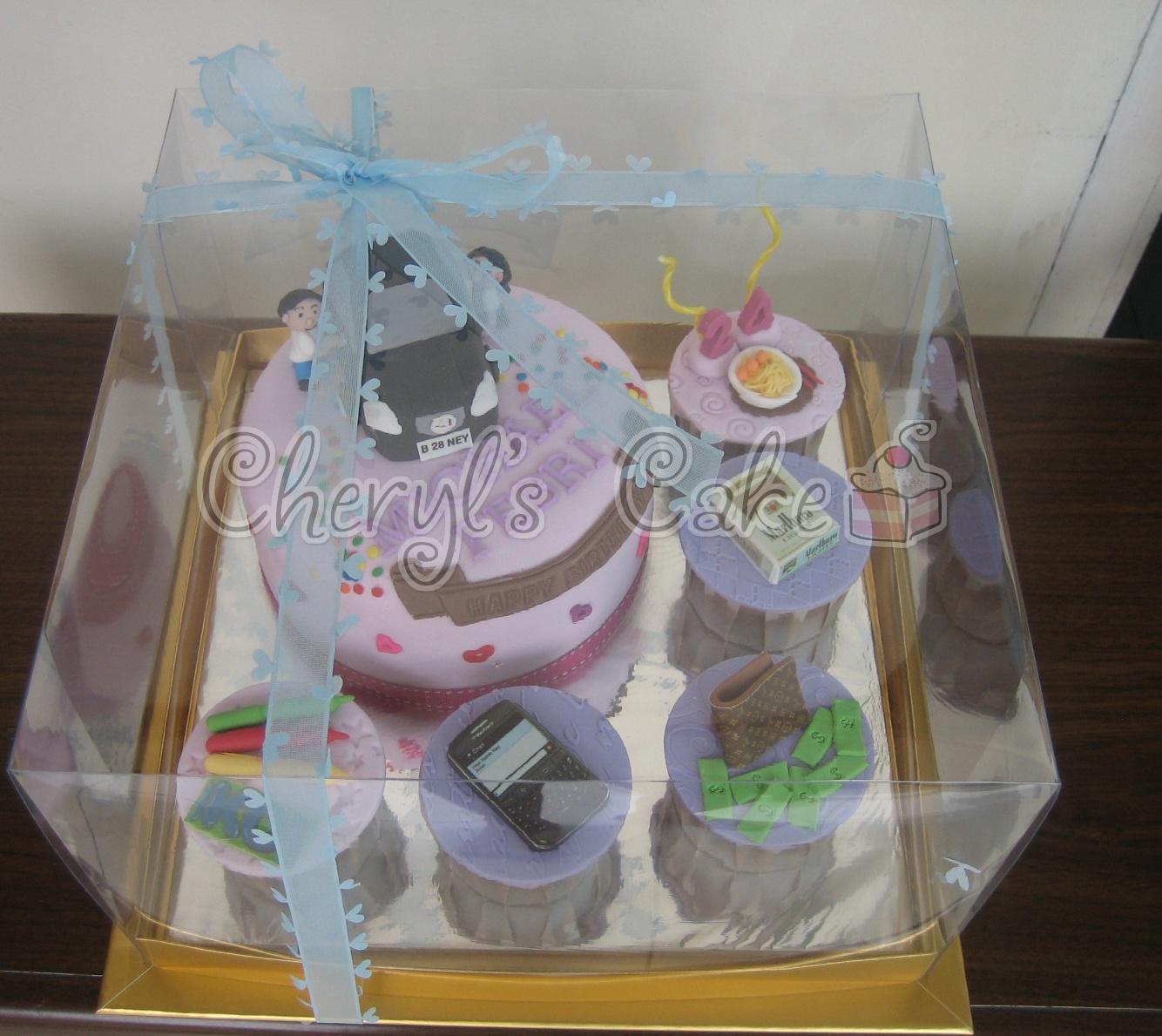 Kue Ulang Tahun Anak Cupcake Birthday Cake Favourite