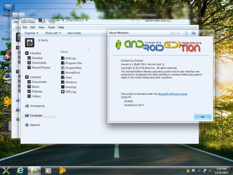 Android Edition 2014 -Windows 7 Ultimate SP1 - X86 - X64