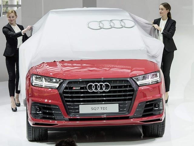 Novo Audi SQ7 TDI