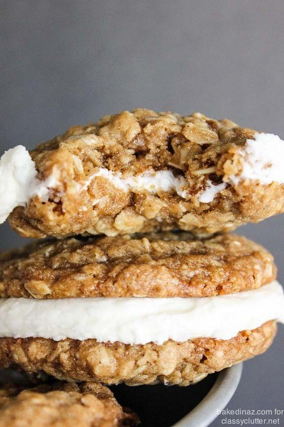 Oatmeal Creme Pie Cookies