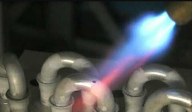 Cara pengelasan evaporator aluminium