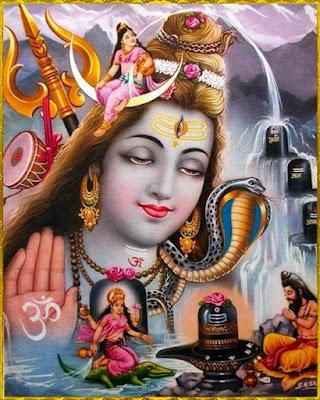 sadashiva hindu god worshipped by ganga and sages