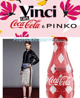 Logo Vinci bottiglie Coca-Cola by Pinko, outfit da 300 euro e una giornata da Vip