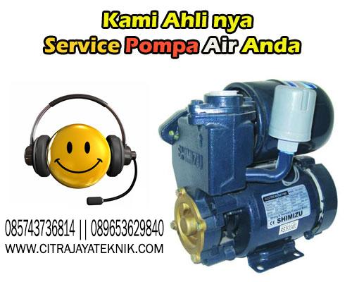Jasa Service Pompa Air Area Yogyakarta