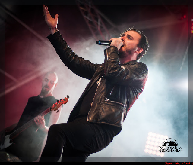 Grave Pleasures @Hellfest 2015, Clisson 21/06/2015