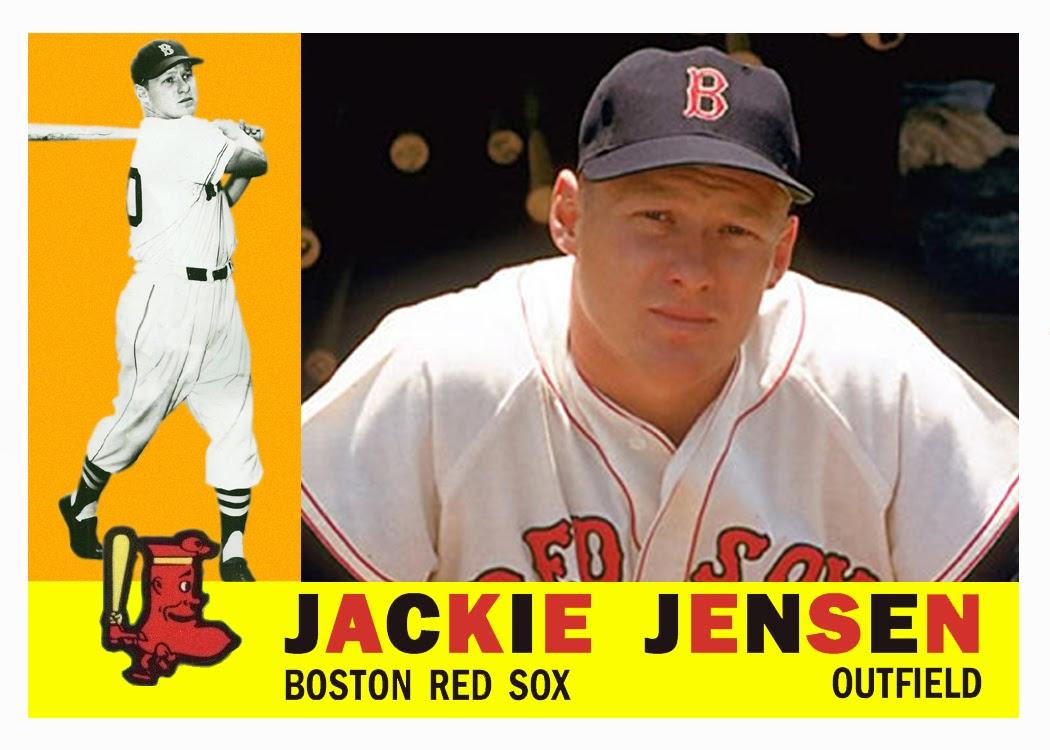 Bob Lemkes Blog Jackie Jensens Finally On A 1960 Topps Card