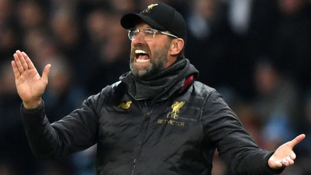 Jurgen Klopp Liverpool Vs BRIGHTON AND HOVE ALBION