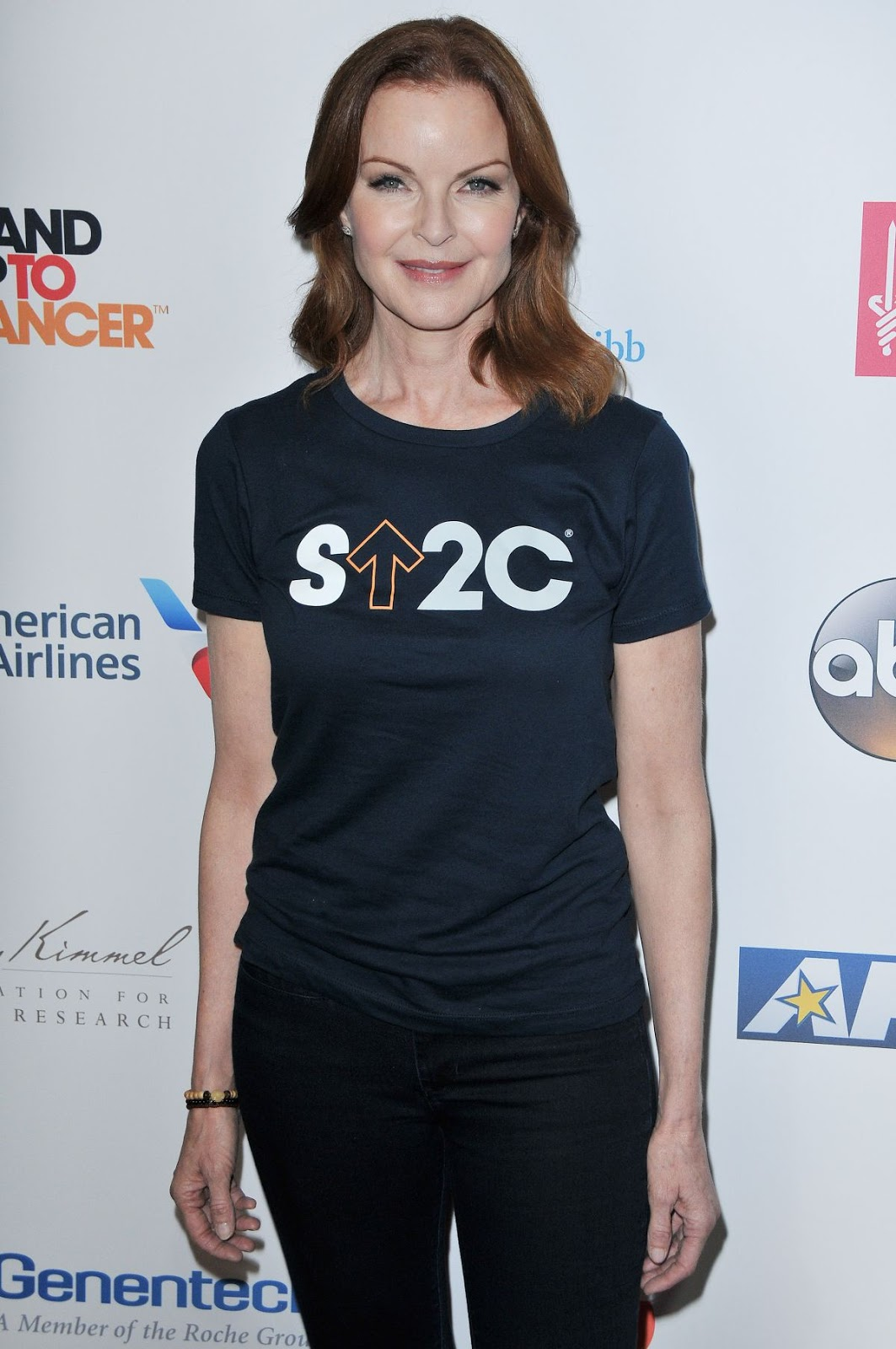 HQ Photos of Marcia Cross At 5th Biennial Stand Up To Cancer In Los Angeles