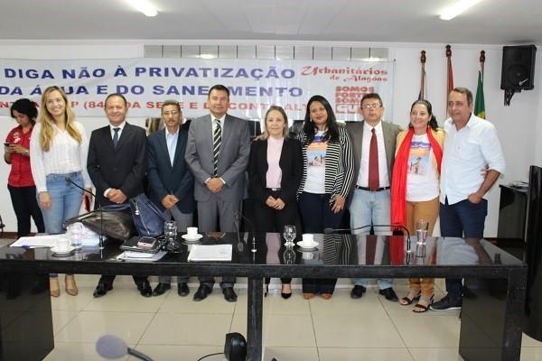 Audiência pública na Câmara de Delmiro Gouveia critica MP que altera o marco legal do saneamento