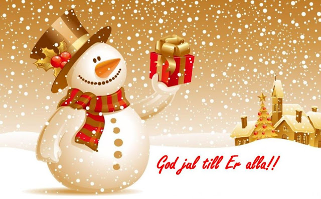 God Jul text bilder